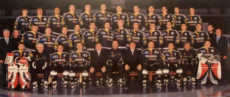 Tým Sparty v sezoně 2004/2005