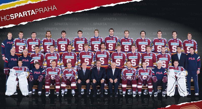 Tým Sparty v sezoně 2008/2009