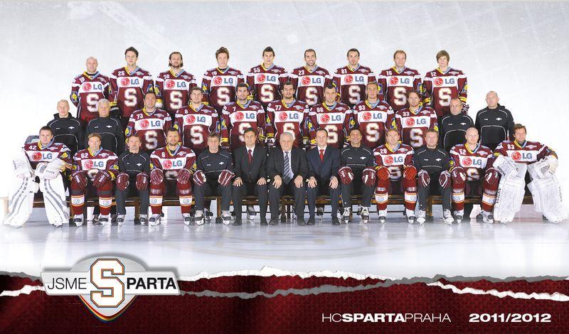 Tým Sparty v sezoně 2011/2012