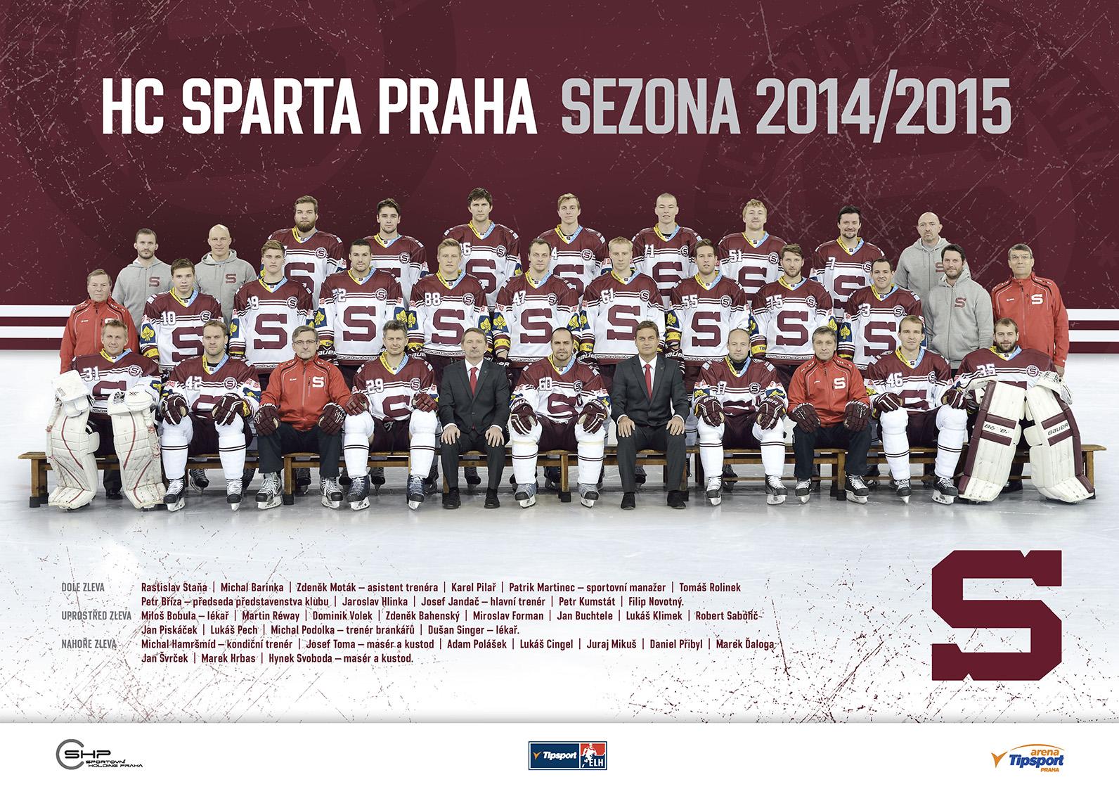 Sparta v sezone 2014/2015